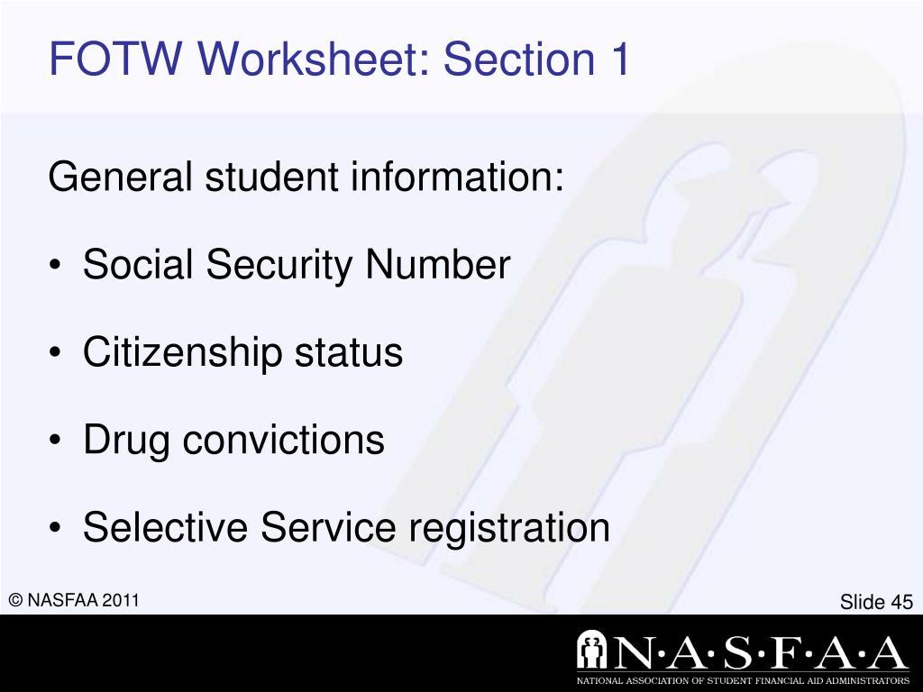 30 Fafsa Drug Conviction Worksheet