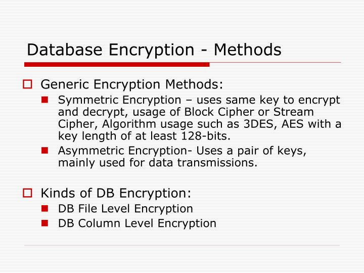 Database Security Issues Ppt
