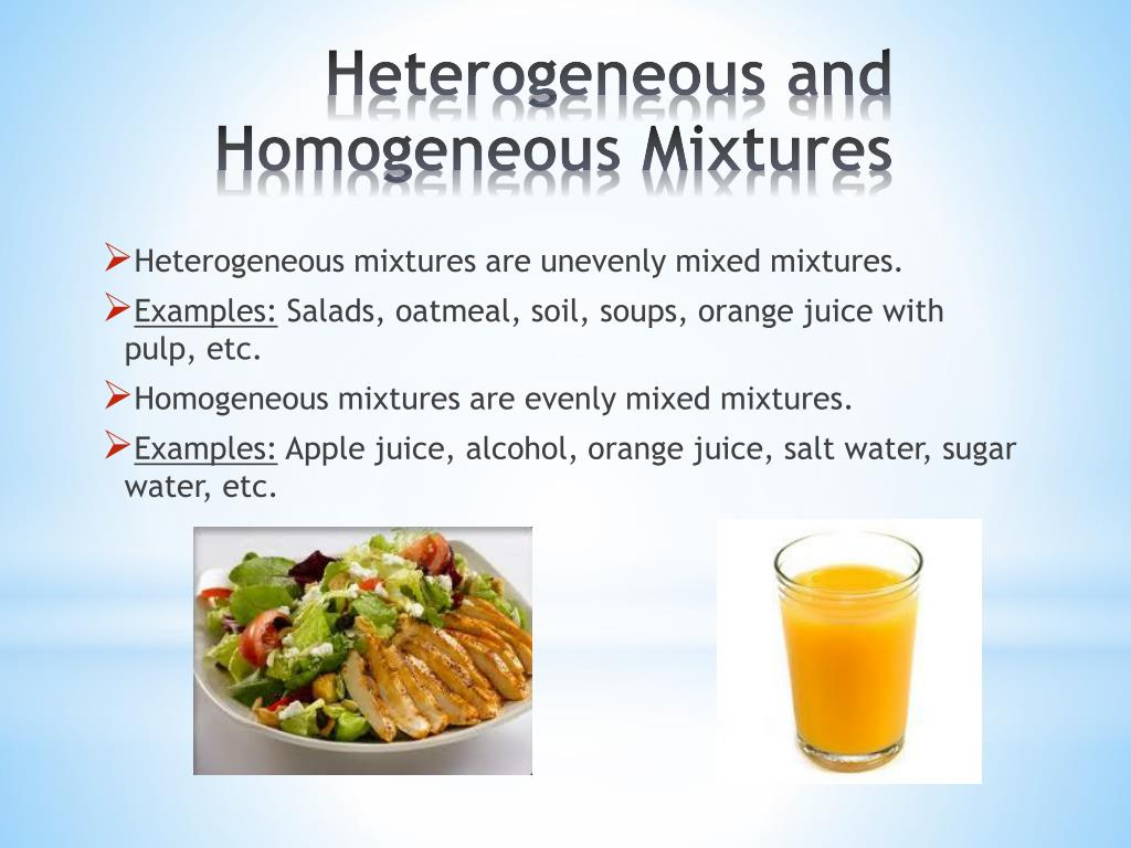 Is Orange Juice A Mixture