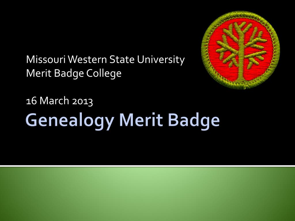 First Aid Merit Badge Powerpoint