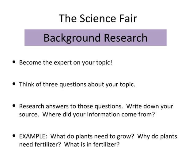 PPT - The Science Fair PowerPoint Presentation, free download - ID