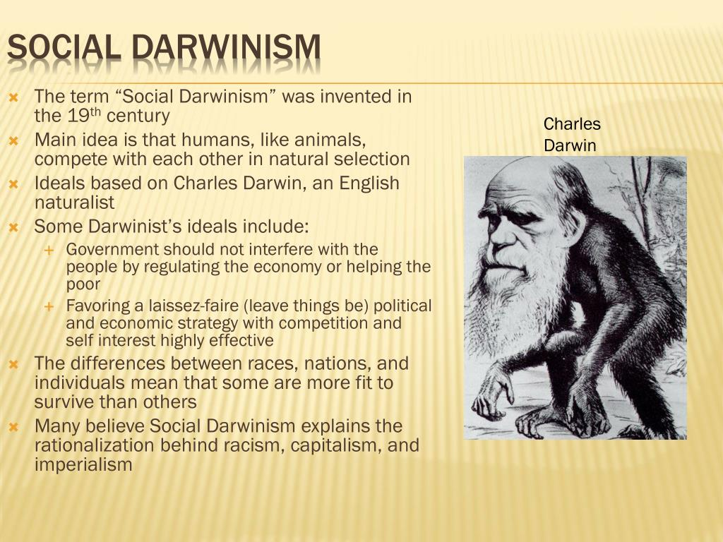 Ppt Social Darwinism Powerpoint Presentation Id