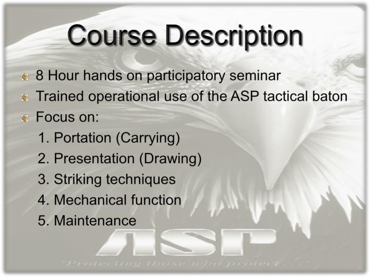 Private Security Training Phase 1