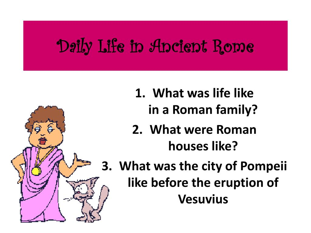 What Were Roman Houses Like Houses And Apartments In