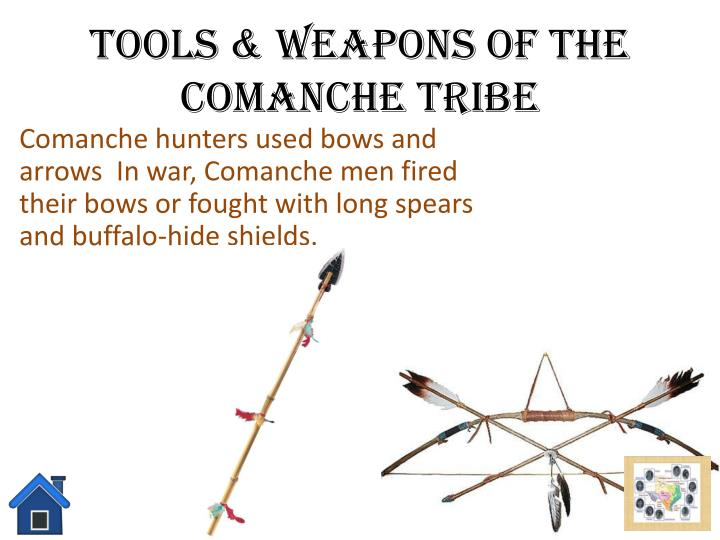 Comanche Indian Weapons