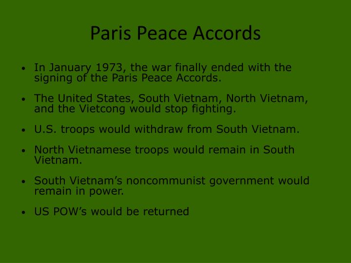 PPT - Chapter 29 Section 4 The War's End and Impact ...