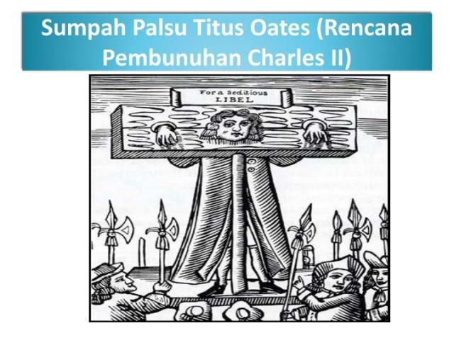 Image result for sumpah Palsu Titus Oates