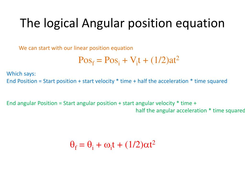 3 Equations Of Motion
