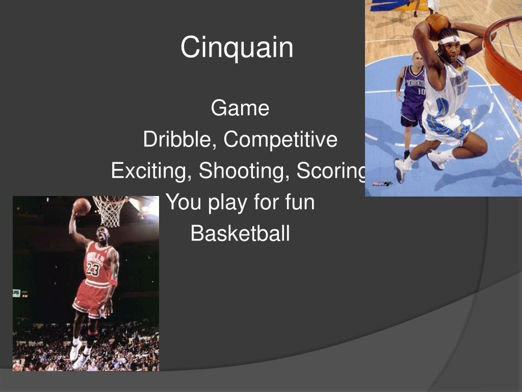Basketball Cinquain Poems
