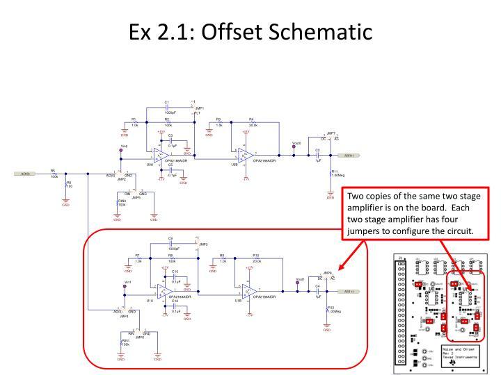 Op Amp Offset Voltage AEW-0100 PowerPoint