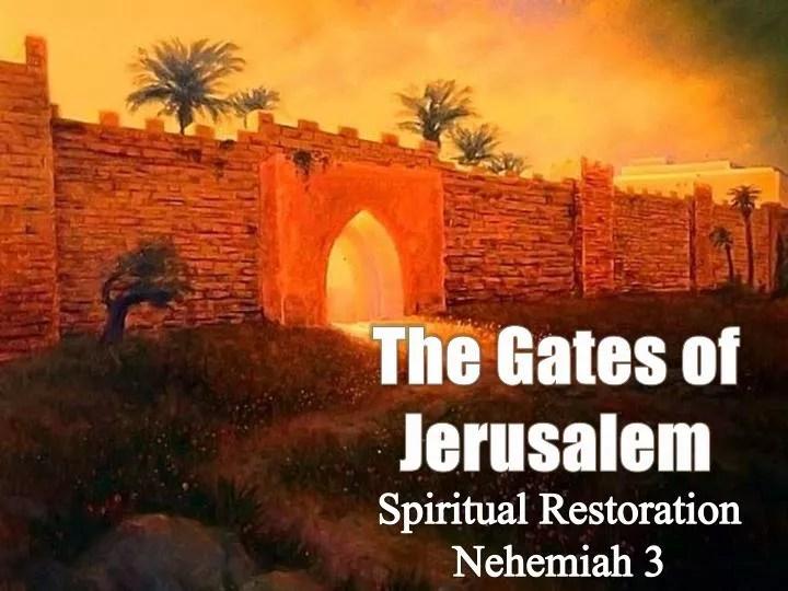 PPT The Gates Of Jerusalem PowerPoint Presentation ID
