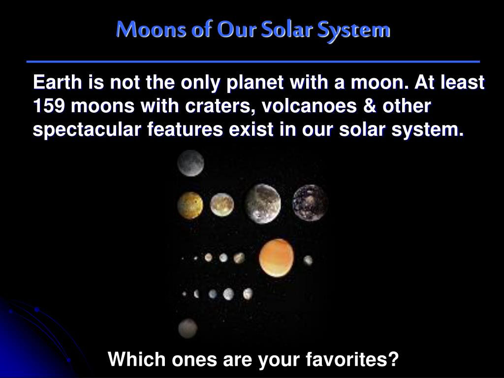 Earth And The Solar System Slideshare