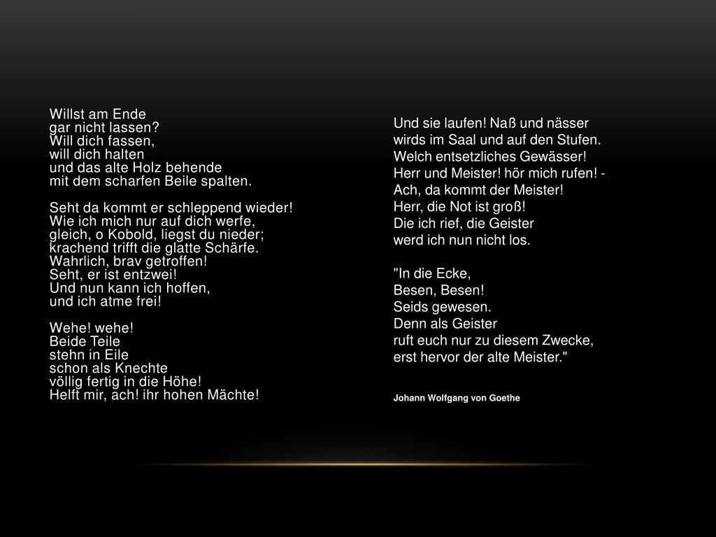 Zum Geburtstag Gedichte Goethe Nani Chakhunashvili