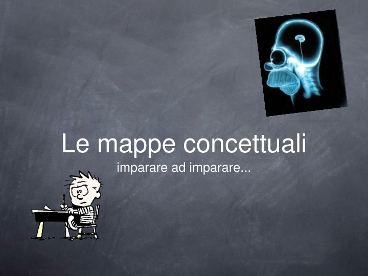 PPT   Le mappe concettuali PowerPoint Presentation   ID 3016623 Le mappe concettuali