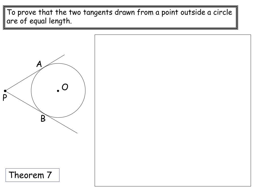 Tangents To Circles Worksheet