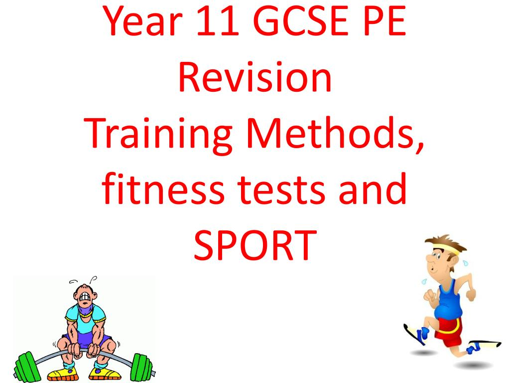 Fitness Test For Balance Gcse Pe