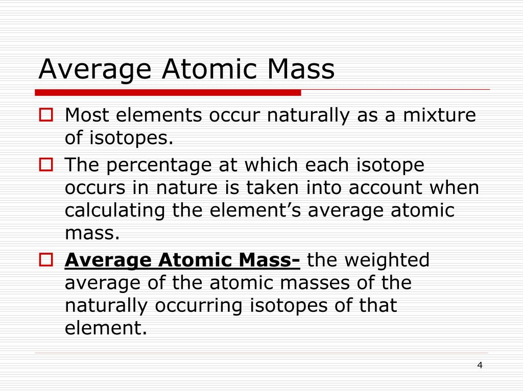 More Average Atomic Mass Worksheet Answers