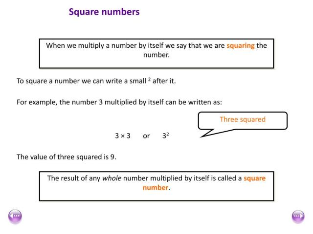 PPT - Square numbers PowerPoint Presentation, free download - ID