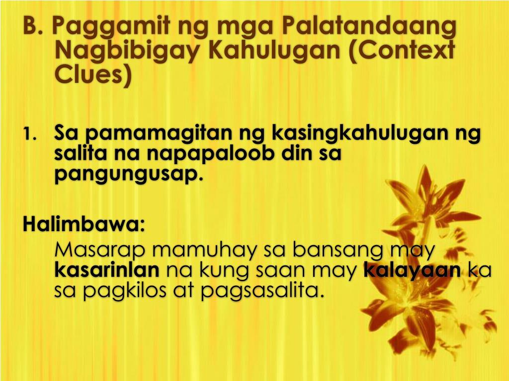 Worksheet Sa Kayarian Ng Salita