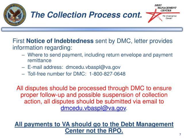 Debt Management Center School Liability