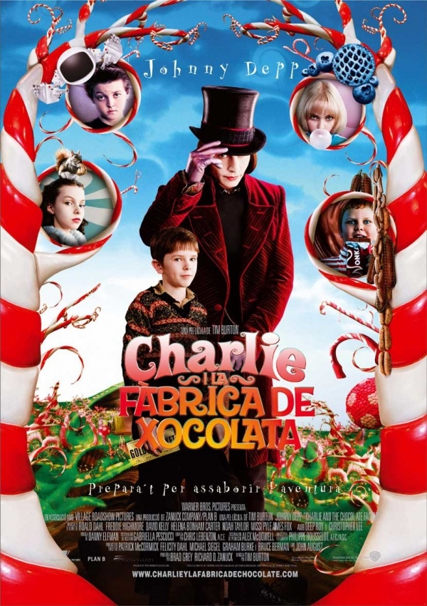 Factory And Chocolate Deluxe Charlie Dvd