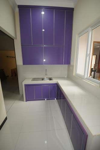 Jual Aluminium Composite Panel Kitchen Set 2 Harga Murah