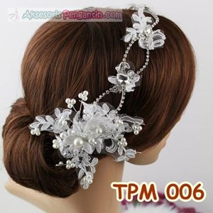 Sell Modern Bridal Bun Accessories L Wedding Hair Tiara Tpm 006