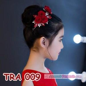 Sell Aksesoris Rambut Pesta Anak Merah L Hiasan Tiara Sanggul Emas