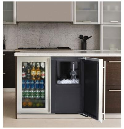 U Line 3018CLROL40 3000 Series Built In Ice Maker With 60 Lb Daily Ice Production 30 Lb Ice
