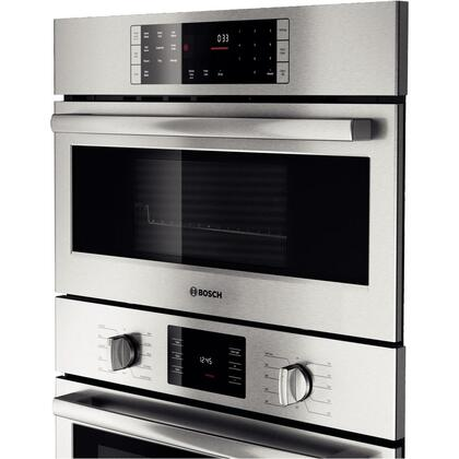 Bosch HBL5751UC 30 Inch Single Wall Oven In Stainless Steel Appliances Connection