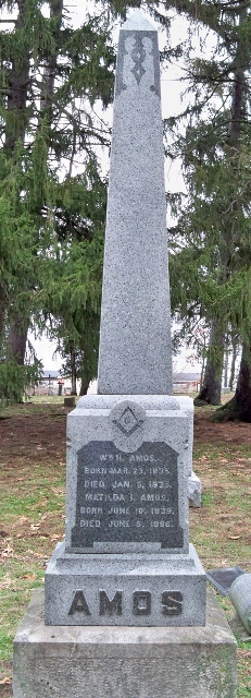 William H Amos