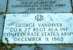 Pvt George Vandiver
