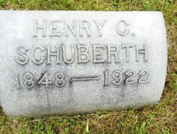 Henry Schuberth tombstone 2