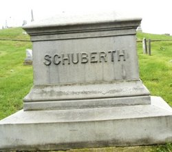 Henry C. Schuberth tombstone 1