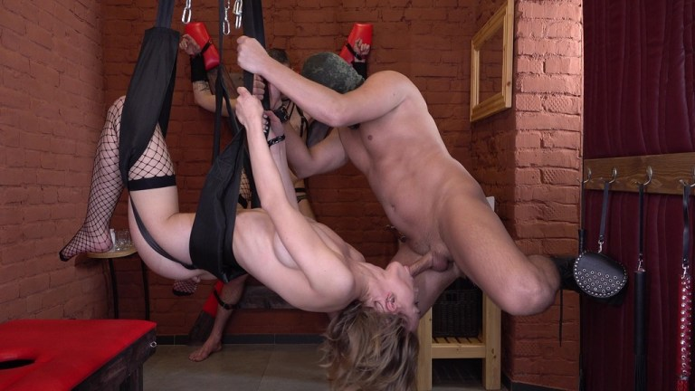 Mistress Loren Strawberry became a bondwoman who was punished and fucked hard NRX056