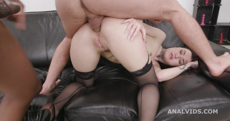 Basined, Tabitha Poison goes wild with lot of Pee Drink, Balls Deep Anal, DAP, Gapes and Swallow GIO1669