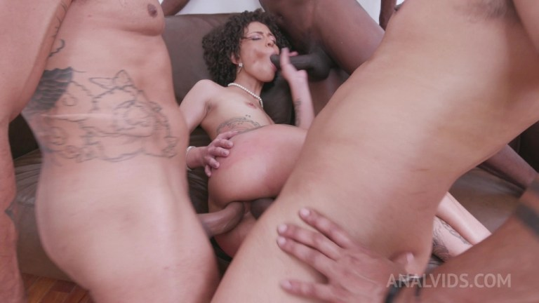 Polly Petrova extreme deepthroat with vomit and hardcore DP YE026