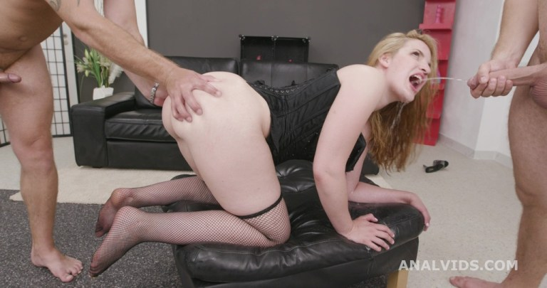 Fucking Wet with Kizzy Six, Balls Deep Anal, Gapes, Pee Drink and Swallow GL271