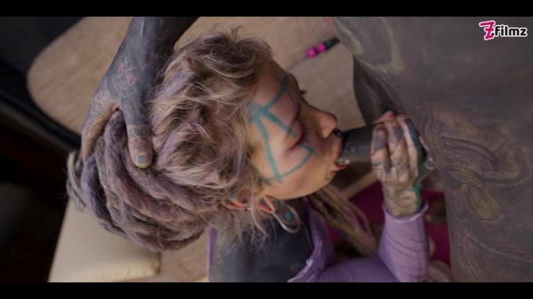 Tattoo Girl get ASS fucked with MACHINE - DP, gape, ANAL, prolapse, real orgasm - goth, punk, alt porn - ZF010