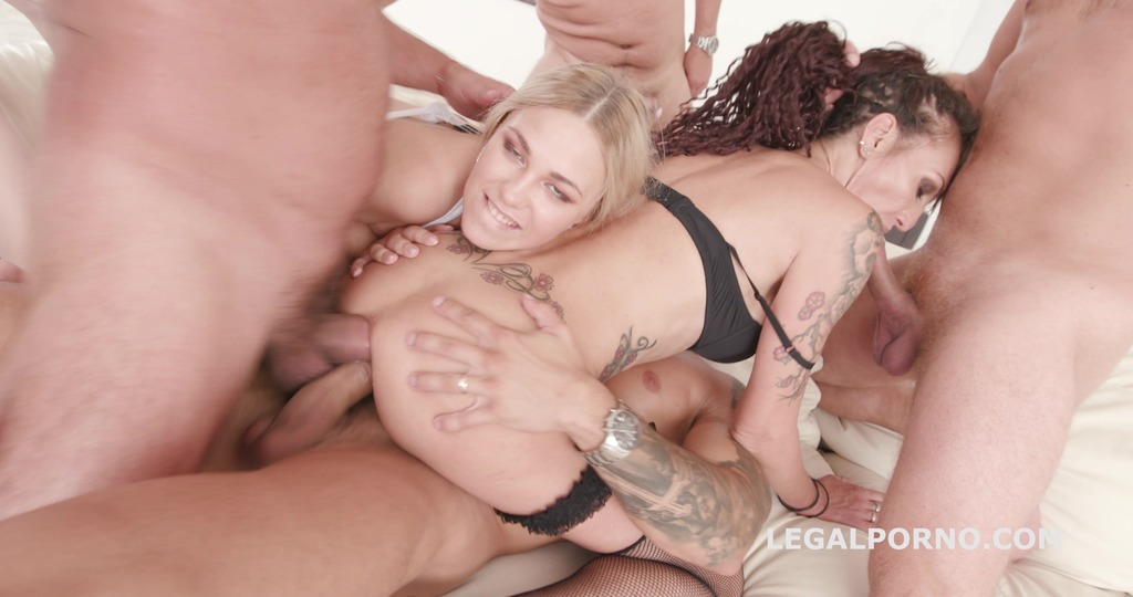 Gapes'n'Roses Lyna Cypher Vs Selvaggia Balls Deep Anal / ATOGM / Gapes / Prolapse / Creampie Fantasy GIO777