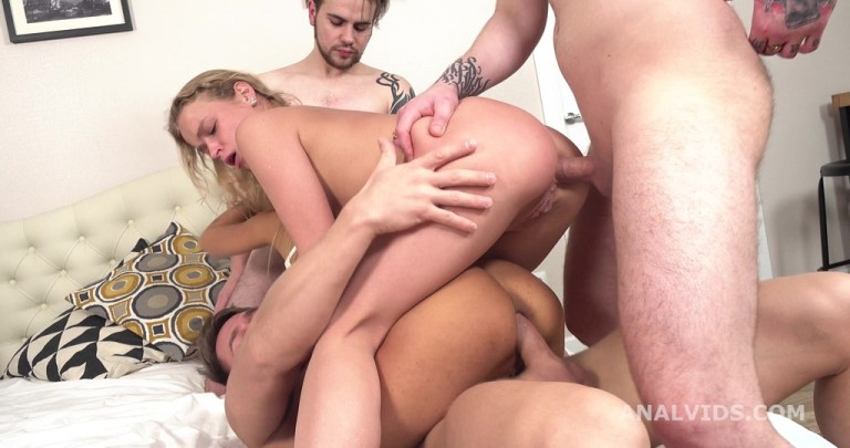 Wild Russia, Monika Fox and Alexa Flexy goes Crazy with Balls Deep Anal, Dap, ButtRose and Swallow GL375