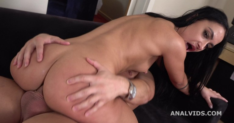Mr. Anderson's Anal Casting with Alisa Kovi Balls Deep Anal, Gapes and Cum in Mouth GL317