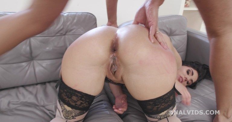 Linda del Sol gets 2 BBC with Balls Deep Anal, DAP, Gapes and Cum Swallow GIO1775