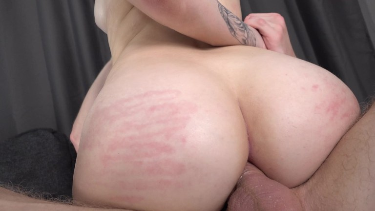 First Time New 19 year old Teen Liloo Von - Hard Anal Fuck - Gagging - Ball Liscking VK079