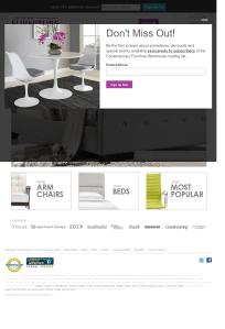 Contemporary Furniture Warehouse Competitors Revenue And