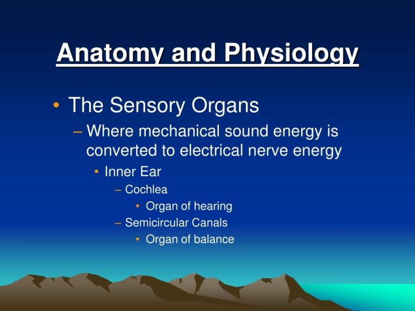 PPT - Hearing Loss, Tinnitus and Meniere's Disease ...