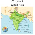 Ppt Chapter 7 South Asia Powerpoint Presentation Free Download Id 3852128
