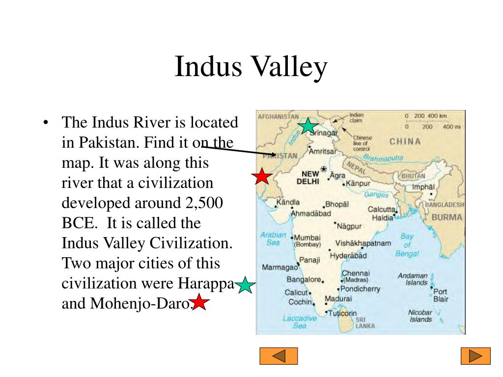 Ancient Indus Valley Worksheet