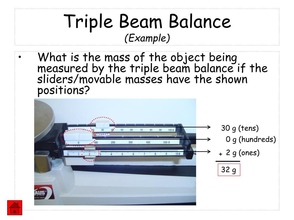 Triple Beam Balance Worksheet Answers