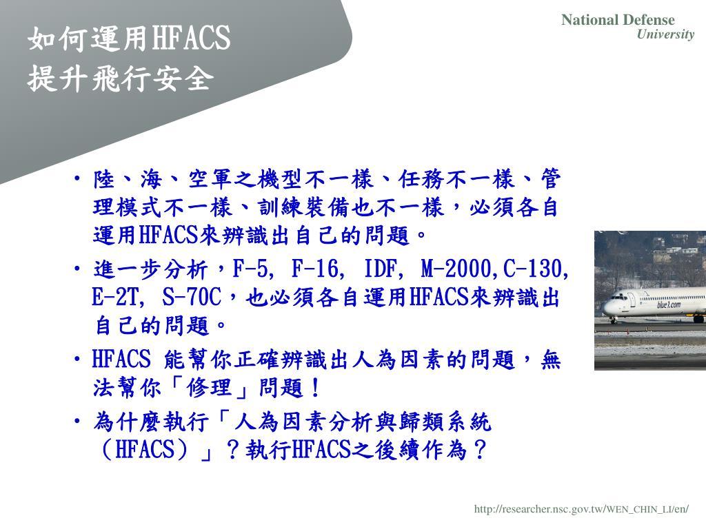PPT - 人為因素分析與歸類系統( HFACS )理論與應用 PowerPoint Presentation - ID:4396266